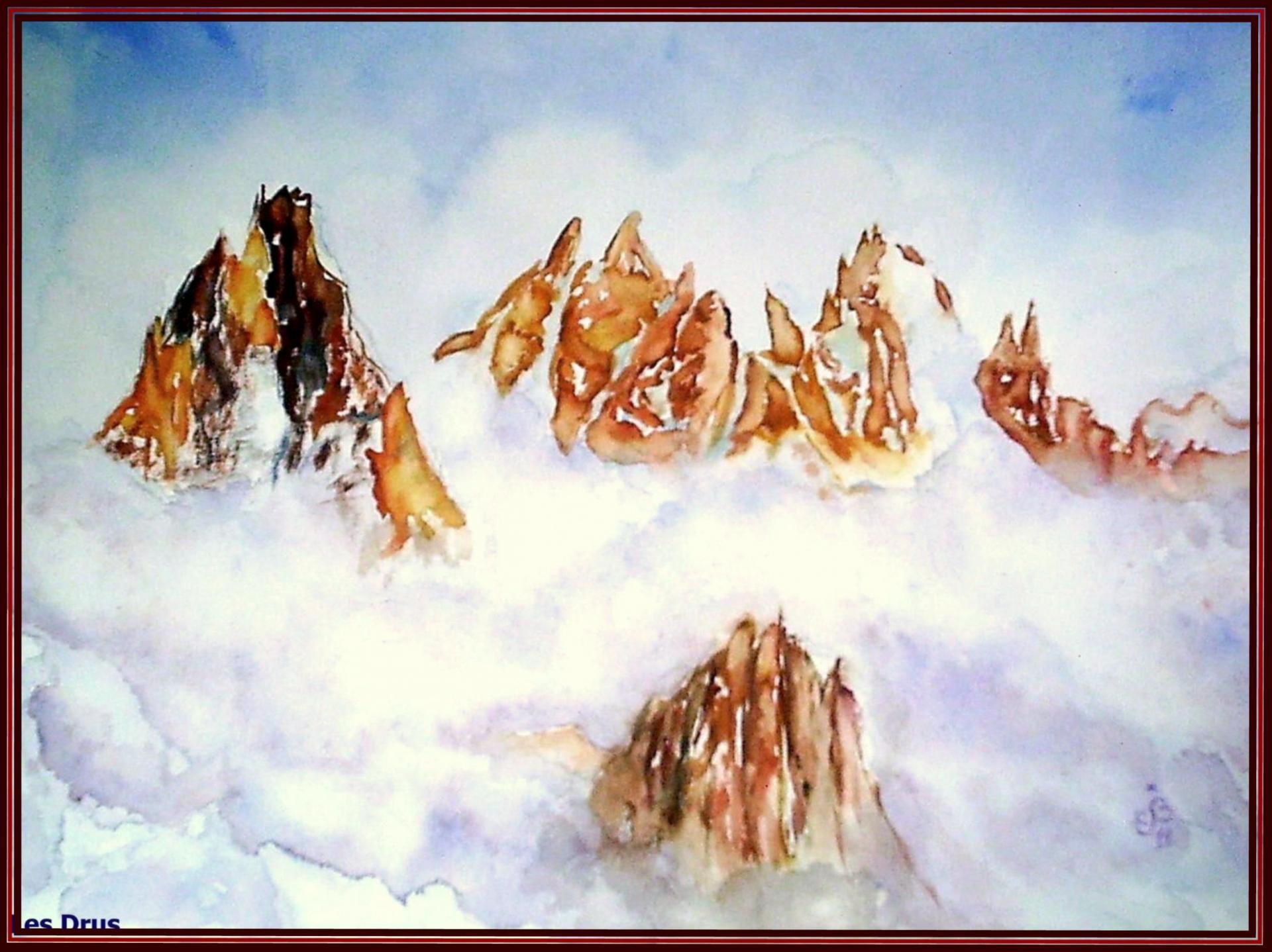 Alpes les Drus