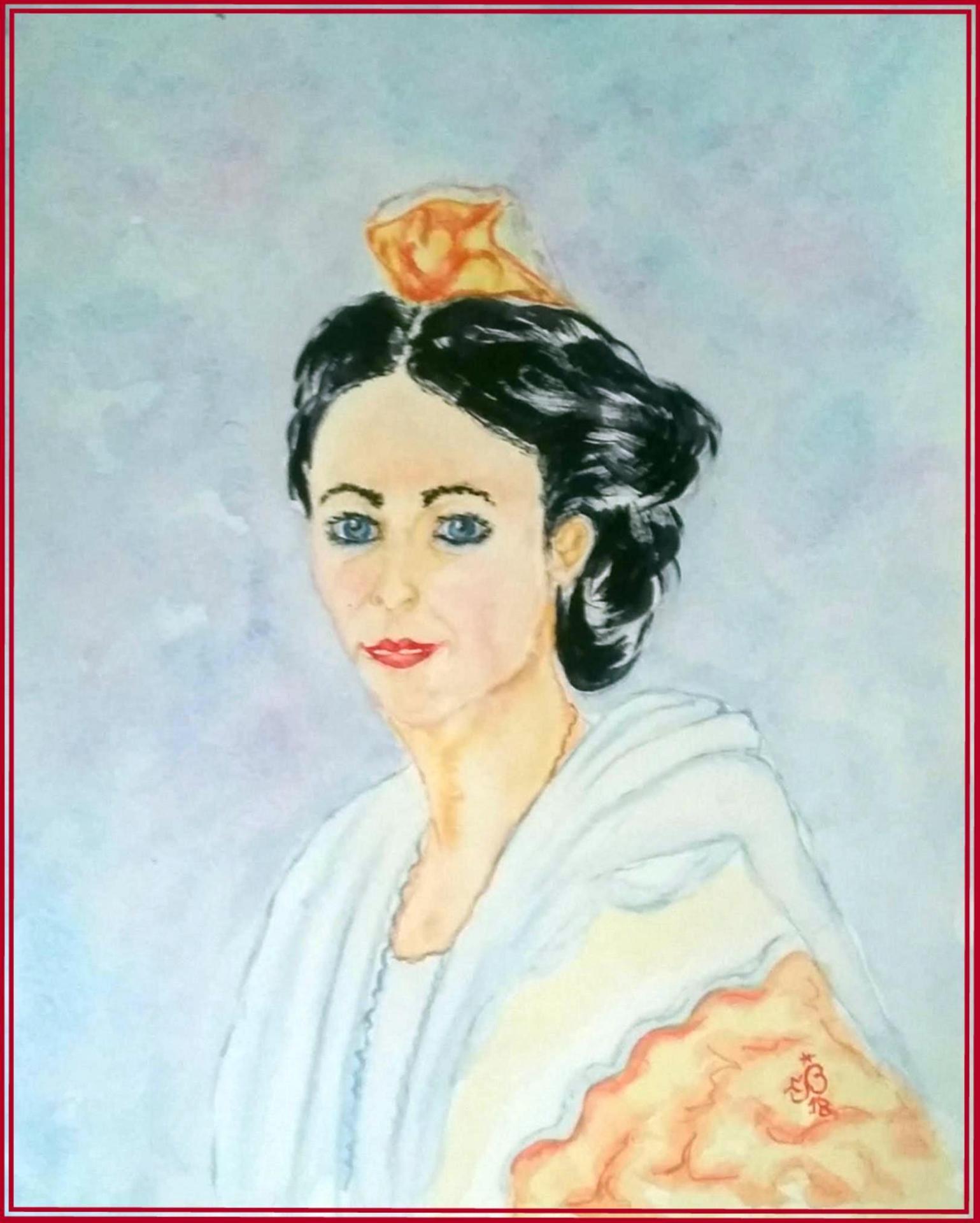 Arlésienne portrait