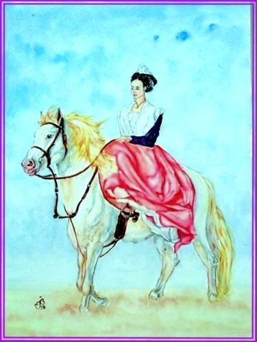 Arlesienne cheval