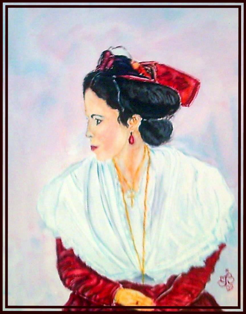 Arlésienne portrait 1