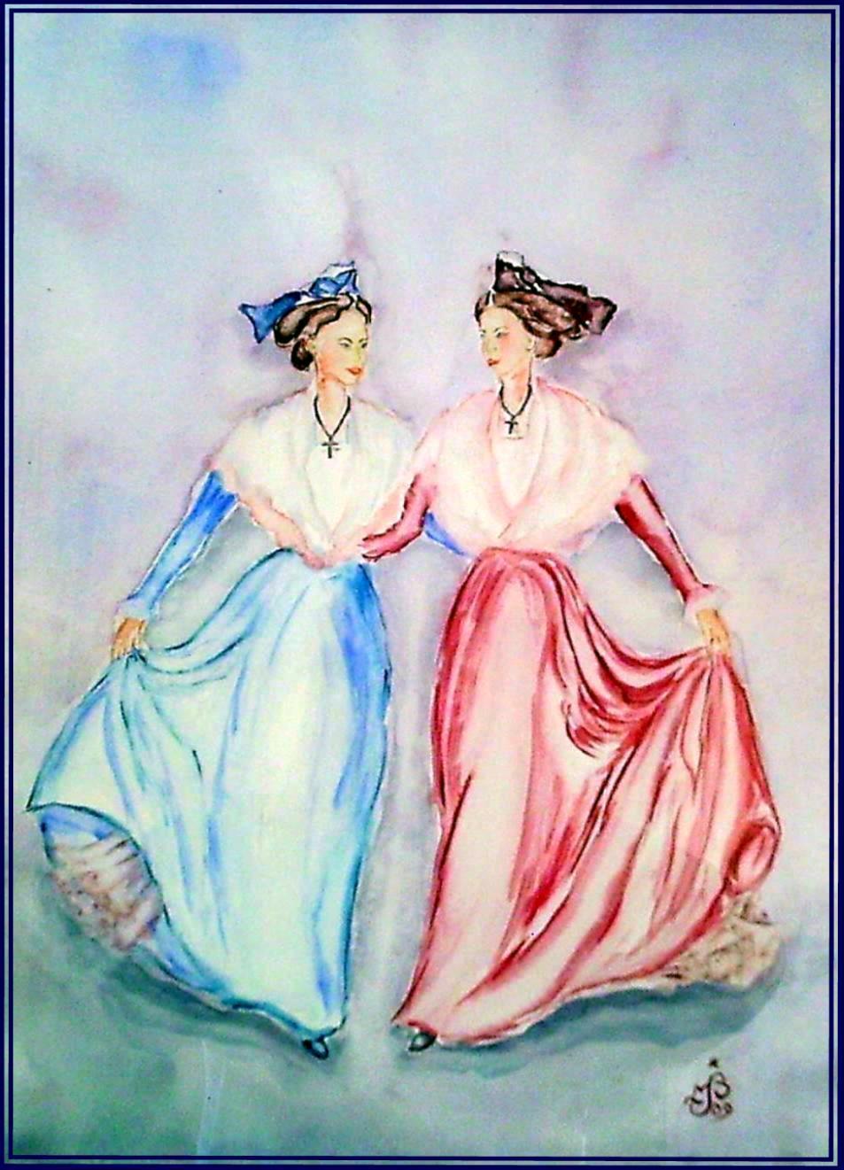 Arlésiennes dansant