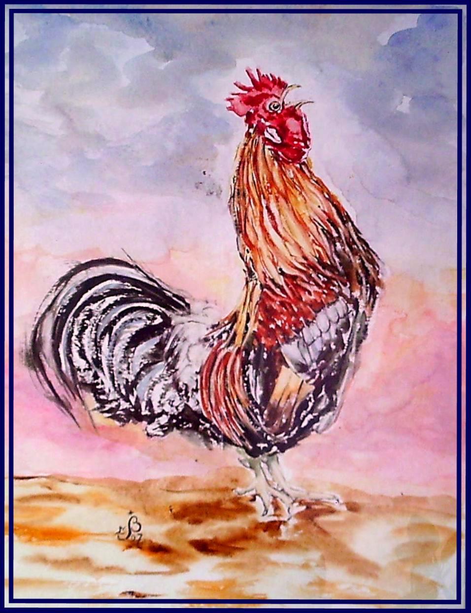 Coq chanteur
