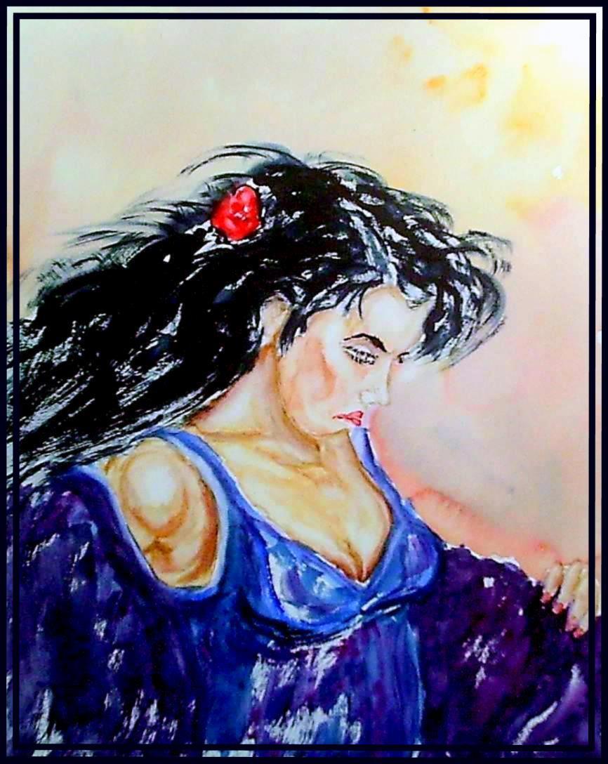 Gitane portrait